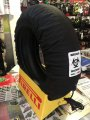 SHOGAI TYRE WARMERS - BLACK (120/17 FRONT 190-205 REAR)