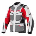 Scout-2 WP Adventure Touring 3 Season Jacket Grey Red