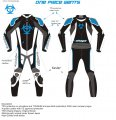 SHOGAI 1 PIECE RACE SUIT < blue >