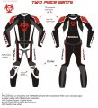 SHOGAI 2 PIECE RACE SUIT < red >